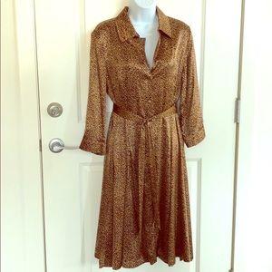 Brooks Brothers silk dress